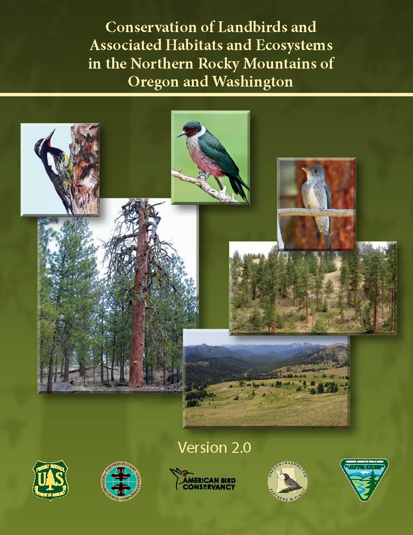 OR WA N. Rockies Landbird Conservation